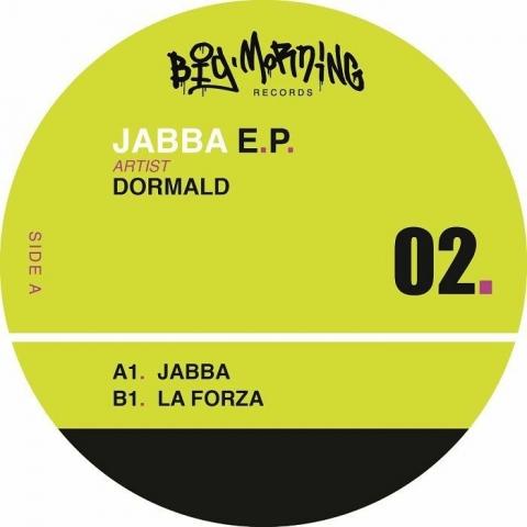 "(  BMR 02 ) DORMALD - Jabba EP (12"") Big Morning Spain"