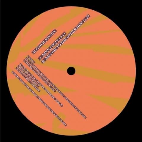 "( IIWII 015 ) Mathew JONSON - Panna Cotta (2020 Re Edition) (12"") Itiswhatitis Canada"