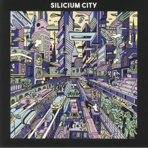 """( DYNA 003 ) OHES / MALOUANE / ORSER / YAXEL RIGAUD /TOM LECLERC - Silicium City (12"""") Dynamiterie France"""