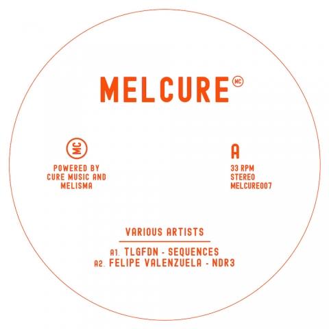 """( MELCURE 007 ) VARIOUS ARTISTS - Melcure 007 ( 12"""" vinyl ) Melcure"""