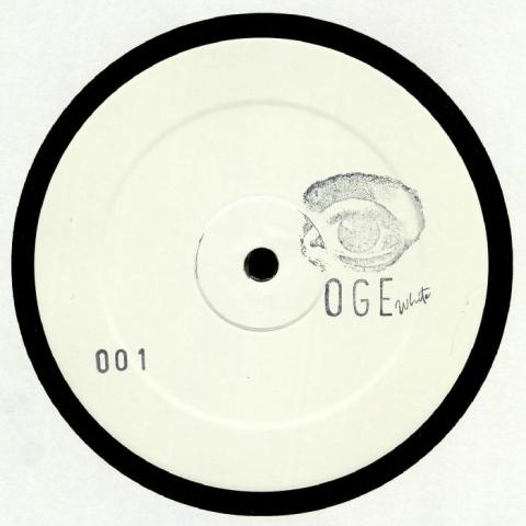 "( OGEWHITE 001 ) OGE WHITE - 001 (limited hand-stamped 12"") OGE White"