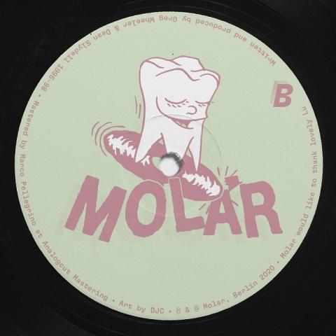 "( MOL 03 ) SYNCHROJACK - A3 EP (12"") Molar"