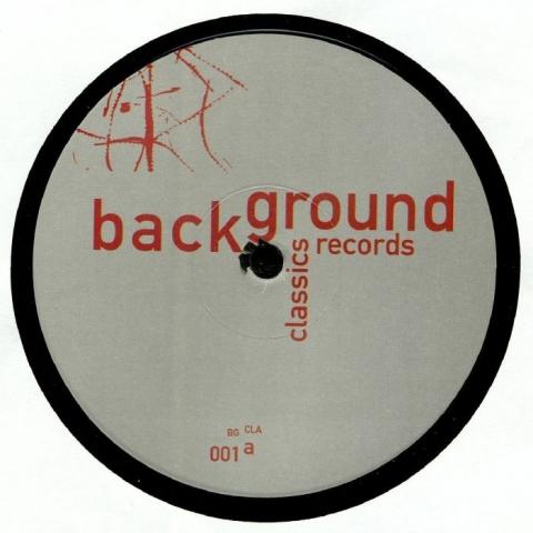 """( BGCLA 001 ) Andy VAZ / KIT CLAYTON / RHYTHM MAKER / TODD SINES - Background Classics Volume 1 (140 gram vinyl 12"""") Background Germany"""