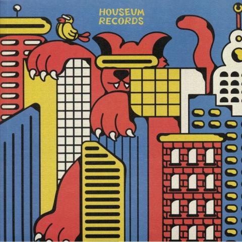"""( HSM 006 ) VITESS - Missed Fly EP (12"""") Houseum"""