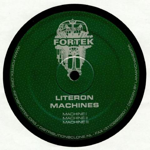 """( FT 014 ) LITERON - Machines (reissue) (12"""") (1 per customer) Fortek Holland"""
