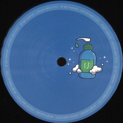 "( UNK17 ) Felipe Bravo – UNK17 (Vinyl, 12"", Limited Edition) - Unknown Label Milano"