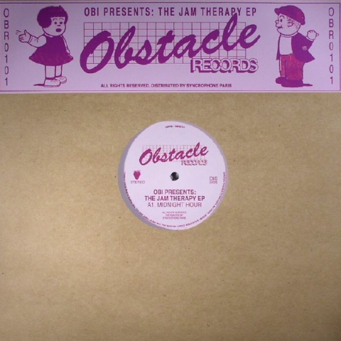 "( OBR 0101RE )  OBI - The Jam Therapy EP (12"") Obstacle Germany"