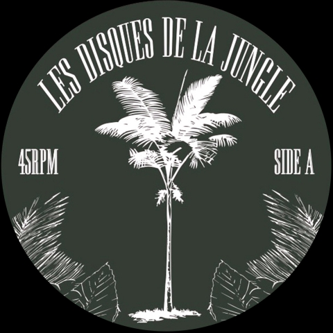 "( LDDLJ 002 ) Fsk / Felix Dulac / Nils -  Les Disques De La Jungle 002 (LTD COPIES 12"") Les Discques De La Jungle"