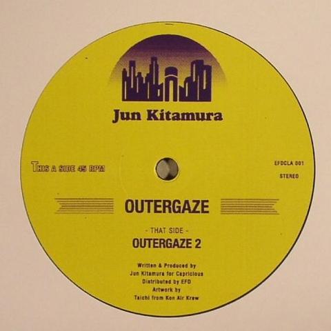 "( EFDCLA 001 ) Jun KITAMURA - Outergaze (12"") EFD Japan"