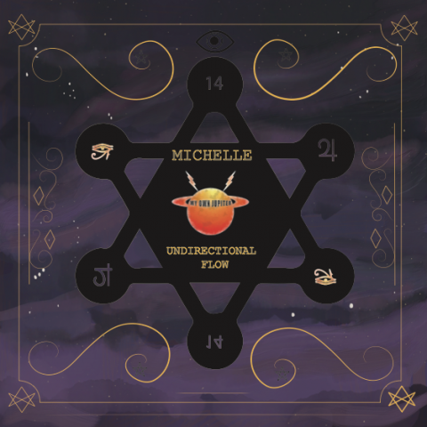"( MOJ 14 ) MICHELLE - Undirectional Flow (12"") My Own Jupiter"