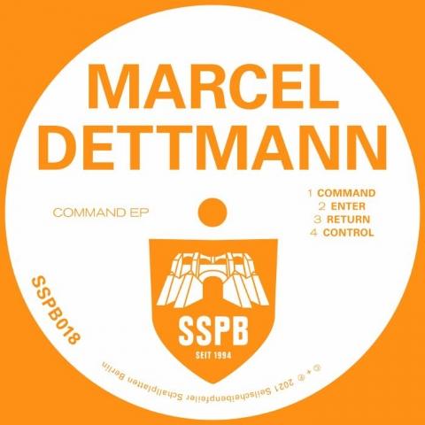 """( SSPB 018 ) Marcel DETTMANN - Command EP (limited 12"""") Seilscheibenpfeiler Schallplatten Berlin"""