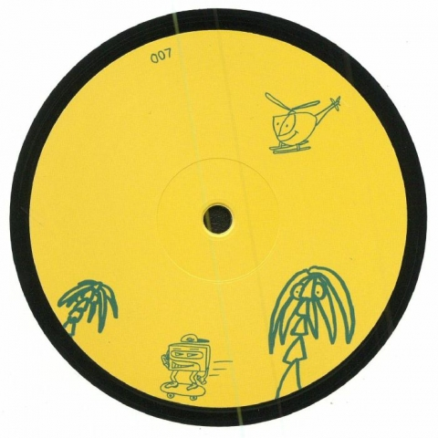 """( PAGER 007 ) Tiago WALTER - Black Gum EP (180 gram vinyl 12"""") Pager"""