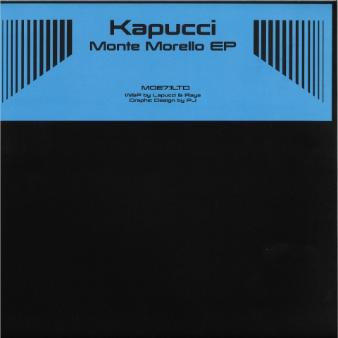 "( MOE 71LTD ) KAPUCCI - Monte Morello EP (12"" limited to 200 copies) Mode Of Expression"