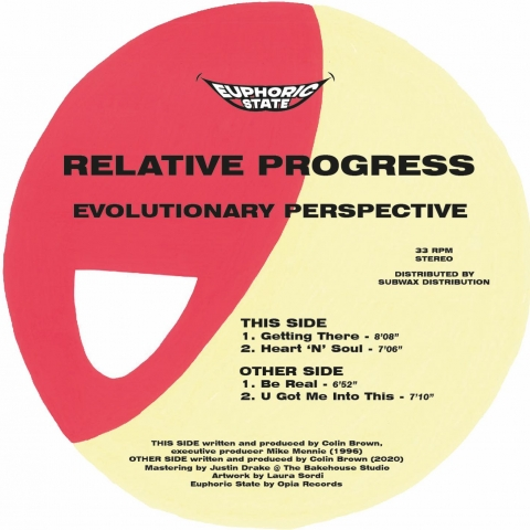 "( EPHCS 003 ) RELATIVE PROGRESS - Evolutionary Perspective (12"") Euphoric State"
