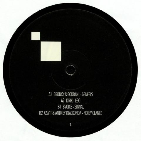 "( GNS 002 )  BRONXY / GORBANI / KIRIK / BVOICE / OSVIT / ANDREY DJACKONDA - Genesis Frequencies 002 (12"") Genesis Germany"