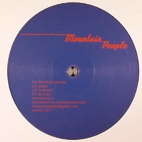 "( MOUNTAIN 013 ) The MOUNTAIN PEOPLE - MOUNTAIN 013 (12"") Mountain People Germany"
