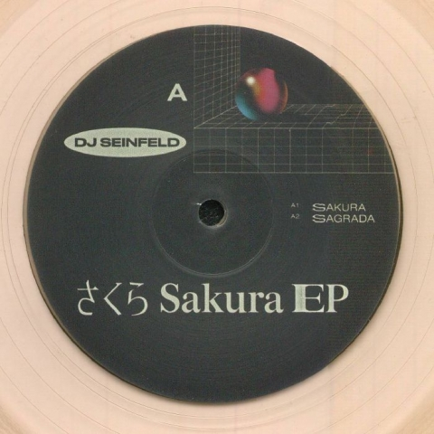 "( YEX 001 ) DJ SEINFELD - Sakura EP (reissue) (translucent pink vinyl 12"") Young Ethics X"