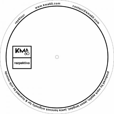 """( REZ 4FOUR ) PARALLAX / NEETA / FUEL - REZ 4FOUR EP (12"""") Rezpektiva"""