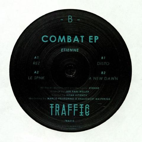 """( TRAFFIC 013 ) ETIENNE - Combat EP (12"""") Traffic"""