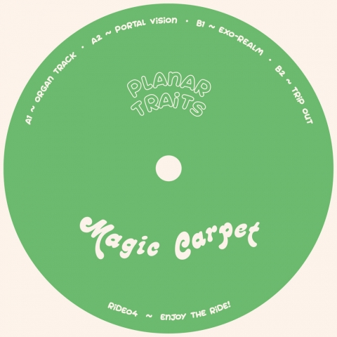 "( RIDE 04 ) PLANAR TRAITS - Portal Vision EP ( 12"" vinyl ) Magic Carpet"