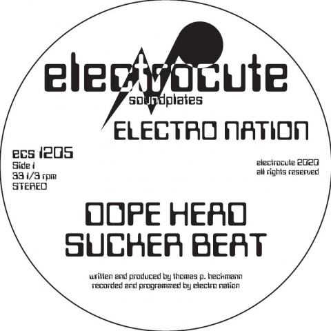 "( ECS 1205 ) ELECTRO NATION - Dope Head (12"") Electrocute Soundplates Germany"