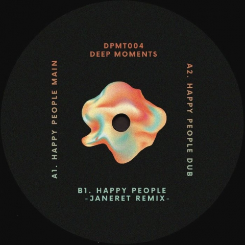"( DPMT 004 ) DJ DEEP -  Deep Moments 004 (12"") Deep Moments France"