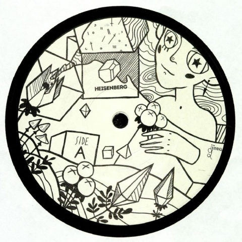 "( HSBRGV 009 ) GUY FROM DOWNSTAIRS / SAKTU / LOST ACT / STAN YAROSLAVSKY - HSBRG BLCK andH01 - (12"") - Heisenberg Holland"