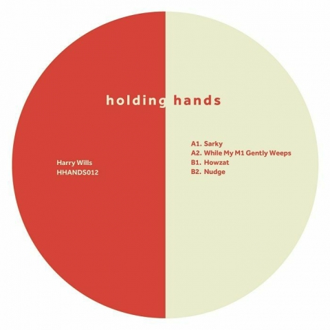 """( HHANDS 012 ) Harry WILLS - Sarky EP (12"""") Holding Hands"""