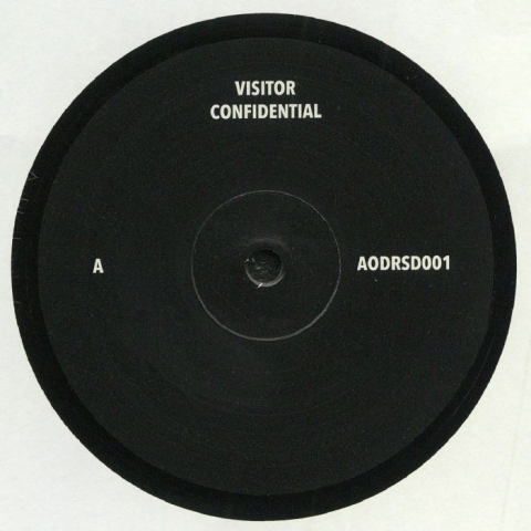 "( AODRSD 001 ) VISITOR - Confidential (12"") Art Of Dark"