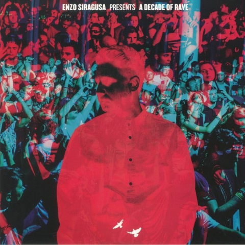 ( FUSE 10LP1 ) Enzo SIRAGUSA - A Decade Of Rave (2xLP + MP3 download code) Fuse London