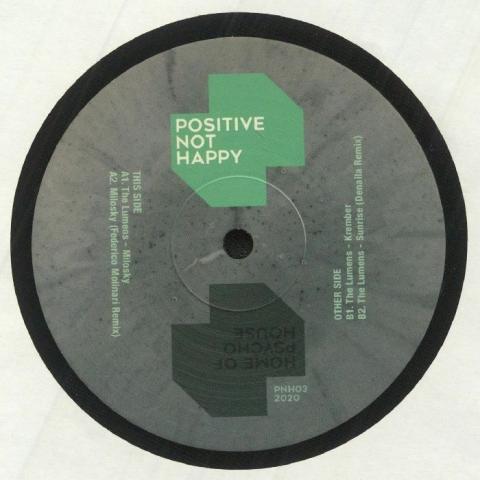 "(  PNH 03 ) The LUMENS - Milosky (12"") Positive Not Happy Italy"