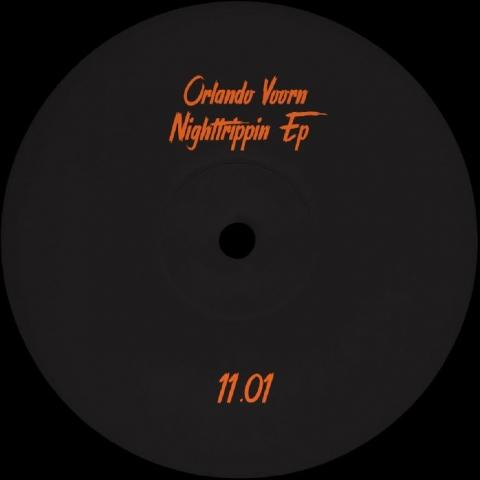 "( PARTOUT 11.01 ) Orlando VOORN - Nighttrippin EP (12"") Partout"
