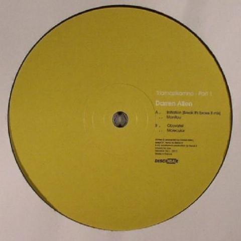 "( DISCOBAR 06.1 )  Darren ALLEN - Triamazikamno Part 1 (12"") - Discobar"
