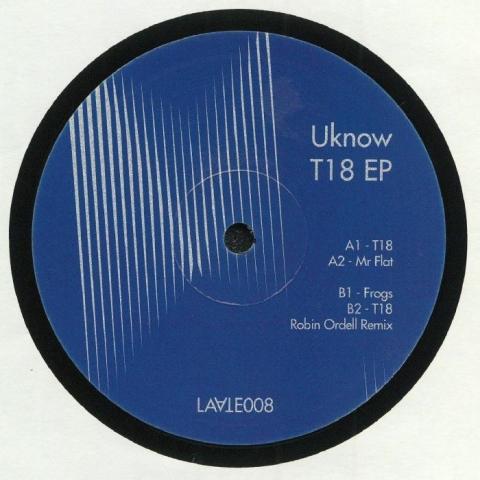 """( LAA 008 ) UKNOW aka ANDREY ZENKOV  - T18 EP (12"""") Laate France"""