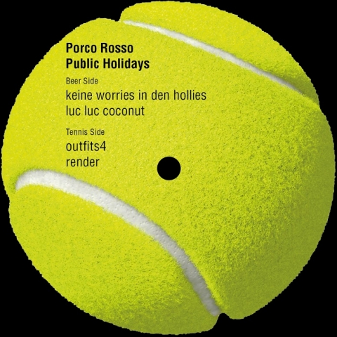 "( PAGER 011 ) PORCO ROSSO - Public Holidays (12"") Pager records"