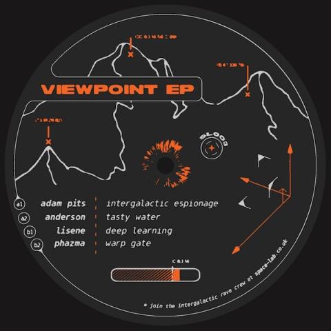 "( SPCLAB 003 ) ANDERSON / LISENE / ADAM PITS / PHAZMA - Viewpoint EP (12"") Space lab"