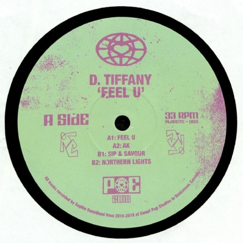 "( PE 003 ) D TIFFANY - Feel U (12"") (1 per customer) Planet Euphorique"