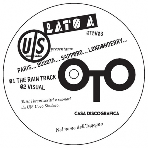 """( OTOV 03 ) UOVO SINDACO - Paris… Bogota… Sapporo… Londonderry ( 12"""" vinyl ) OTO"""