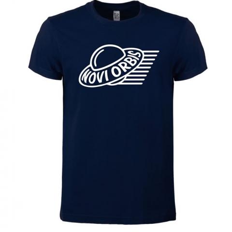 T-Shirt Novi Orbis - Size XXL / BS010 blu navy NY with white stamp