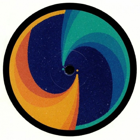 "( SL 015 ) BASEMENT SPACE - Cosmic Collision (heavyweight vinyl 12"") (1 per customer) Slow Life"