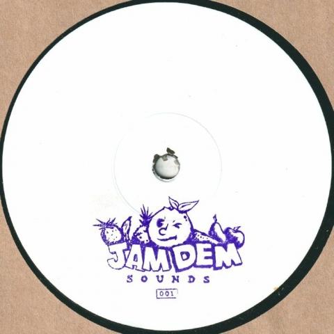 "( JDS 001 ) EASE UP GEORGE - Ease The Mazza EP (hand-stamped vinyl 12"") Jam Dem Sounds"