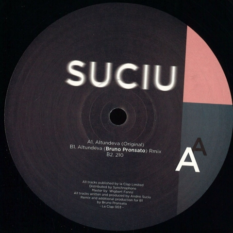 """( LACLAP 003 )  SUCIU - Altundeva (12"""") La Clap France"""