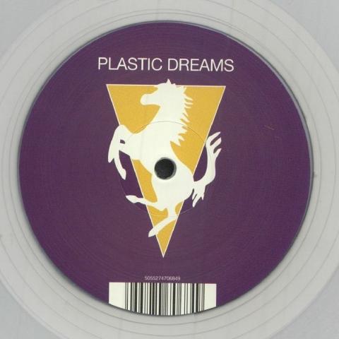 "( RSPLASTICDREAMSCLEAR ) JAYDEE - Plastic Dreams (reissue) (limited 1-sided translucent clear vinyl 12"" repress) (1 per customer) R&S"