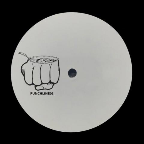 """( PUNCHLINE 03 ) VARIOUS ARTISTS - PUNCHLINE03 (Handstamped promo 12"""") Ba Dum Tish"""