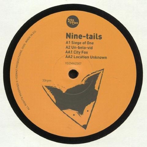 """(  YOZMAZ 007 ) NINE TAILS - Nine Tails (12"""") Yozmaz"""