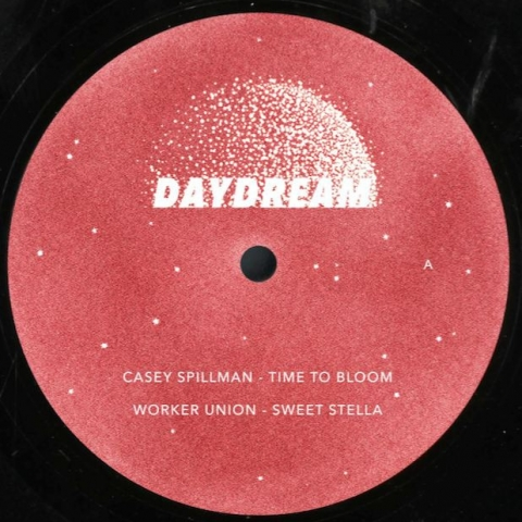 "( DAYDREAM 005 ) Casey SPILLMAN / WORKER UNION / NOAH SKELTON  / STEVN AINT LEAVN - DAYDREAM 005 (180 gram vinyl 12"") Daydream France"