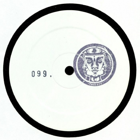 "( THREADS 001 ) SAMO - THREADS 001 (numbered hand-stamped 12"") Threads Italy"