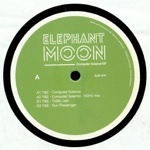 "( ELM 1011 )  Y&E - Computer Science EP (12"") - Elephant Moon"