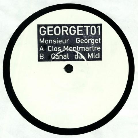 """( GEORGET 01 ) MONSIEUR GEORGET - GEORGET 01 (hand-stamped 12"""") No Label France"""