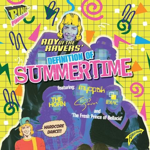 "( P-Bumtee-Nonce ) ROY OF THE RAVERS Feat. MYOPTIK - Definition Of summer ( 12"" vinyl ) Pingdiscs"